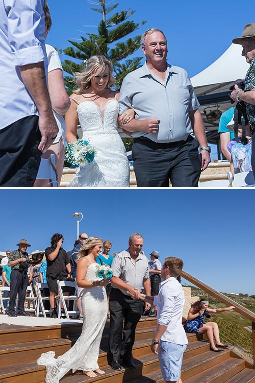 Beach Wedding at Jindalee Beach Deck | Amanda & Gaz