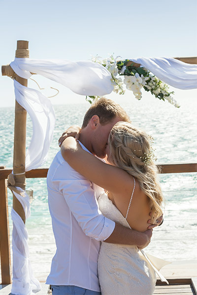 Amanda & Gaz's Beach Wedding | Peter Trends Bridal Blog