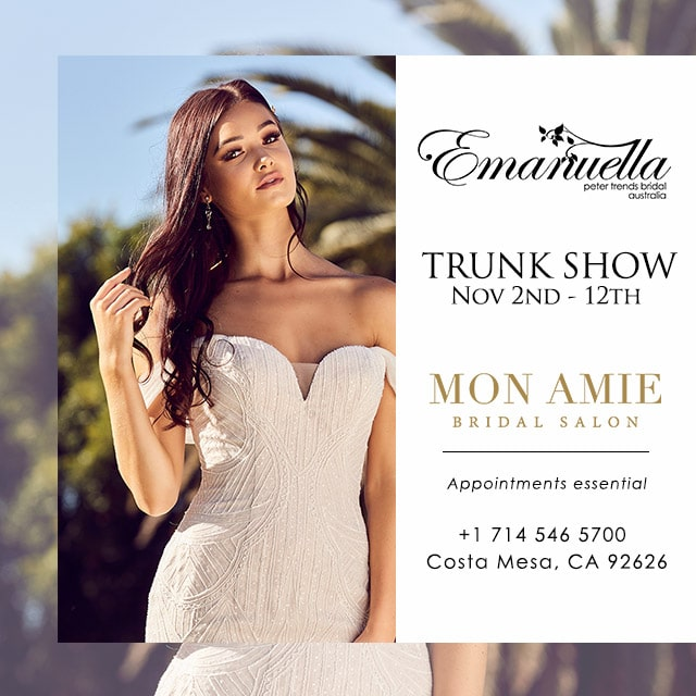 Bridal Trunk Show California