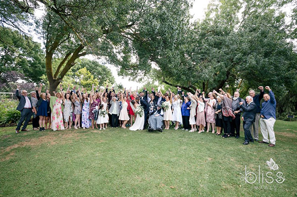 Garden Wedding Adelaide Hills