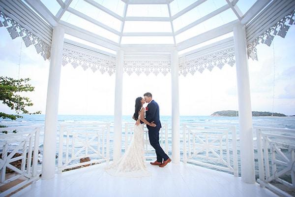 Nat & Tom's beach wedding in Koh Samui