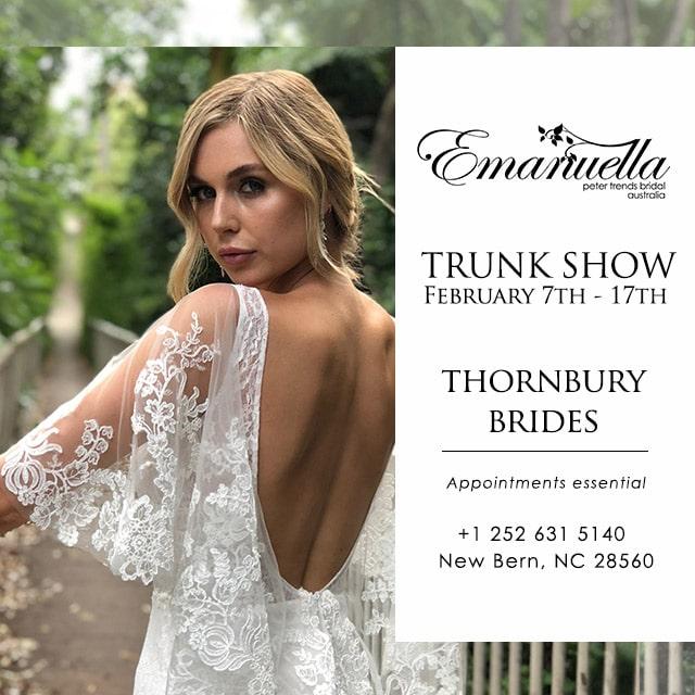 Bridal Trunk Show NC
