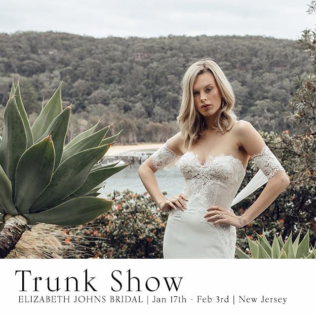 New Jersey Wedding Dress Trunk Show
