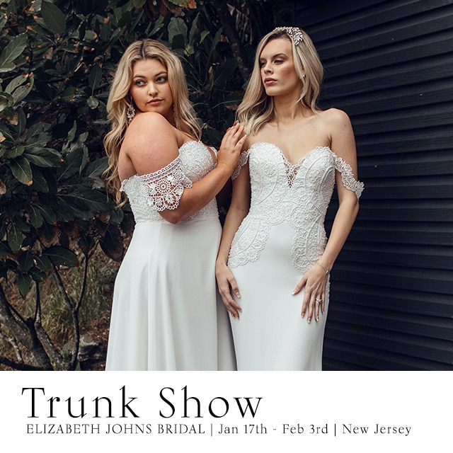 New Jersey Wedding Dress Trunk Show