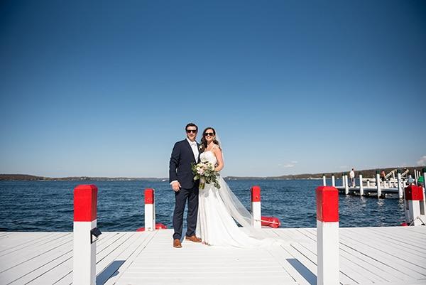 Monica & Art's Wisconsin wedding by Lake Geneva