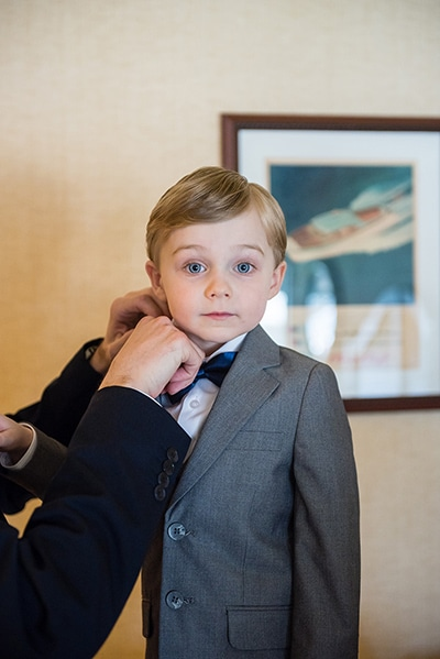 Wisconsin Wedding | Pageboy