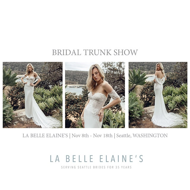 Bridal Trunk Show Seattle