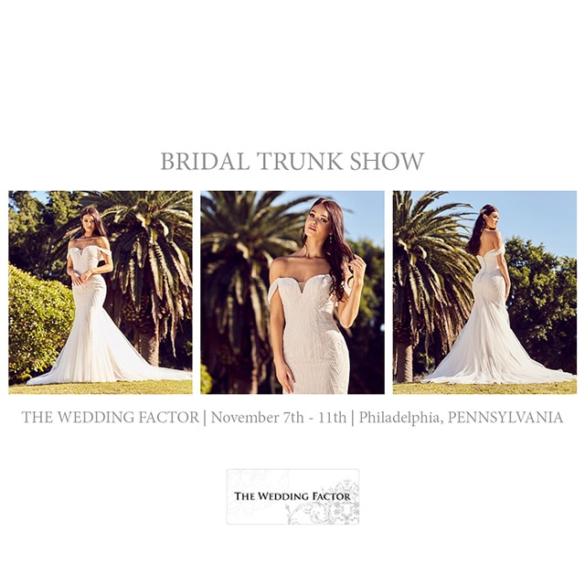 Bridal Trunk Show Philadelphia