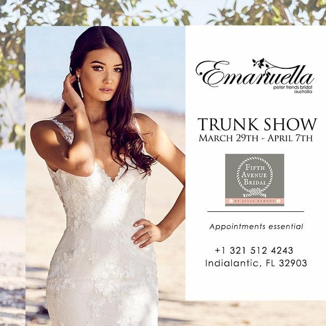 Wedding Dress Trunk Show Florida