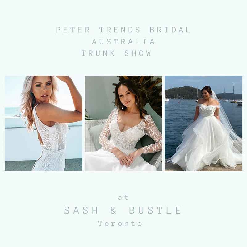 Bridal Trunk Show Toronto