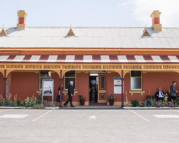 Historic Temora Railway Wedding