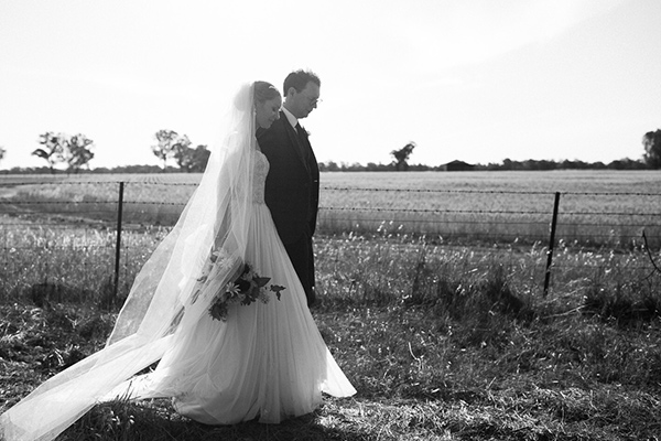 Jodie and Liam's country wedding