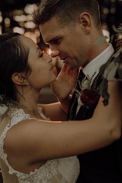 Freemantle Wedding - the kiss