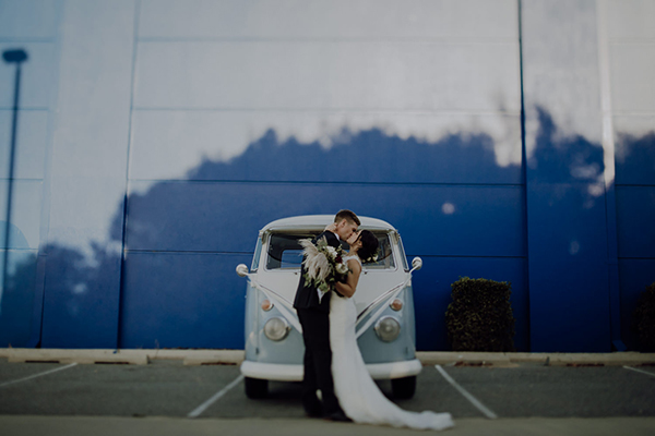 Fremantle Wedding - Combi Van