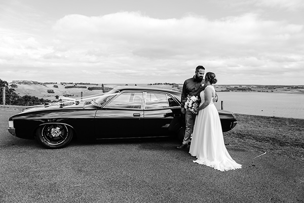 Brianna and Trent's country wedding