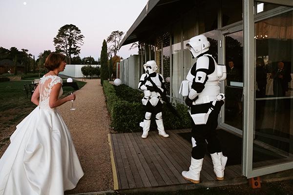 Star Wars Theme Wedding