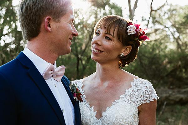 Just married - Monica & Matthew