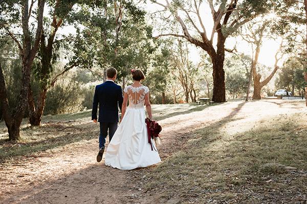 Monica and Matthew's Canberra Wedding